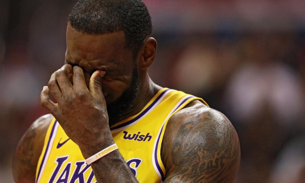LeBron James no sufrió lesión de gravedad