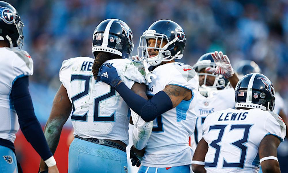 Los Titans derrotaron a Redskins