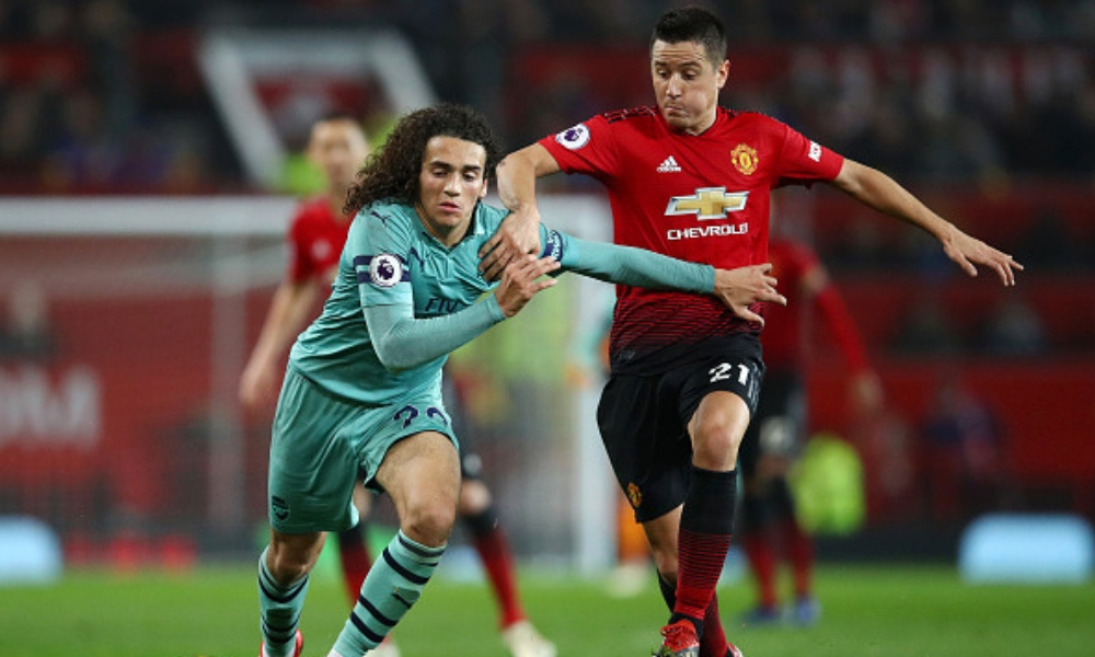 Manchester United y Arsenal empataron