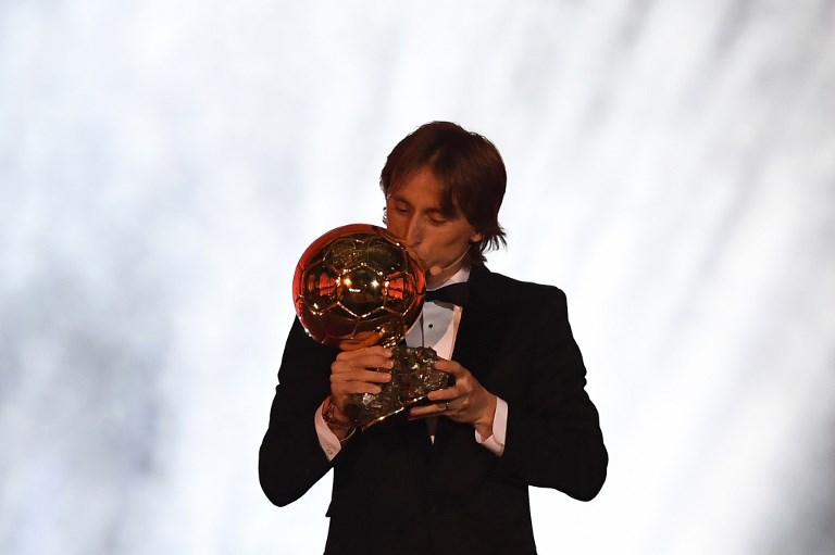 Modric ganó el Balón de Oro