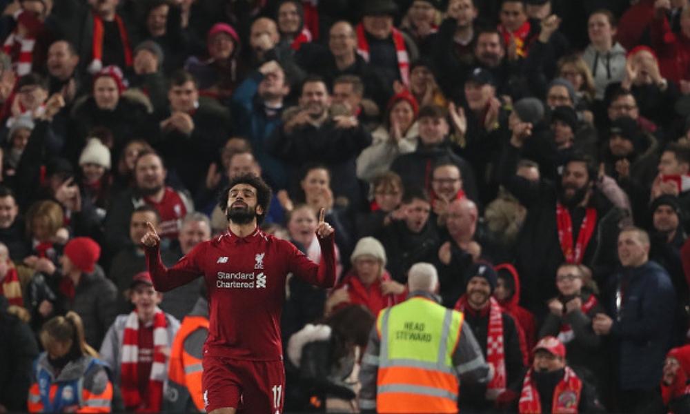 Salah clasificó al Liverpool