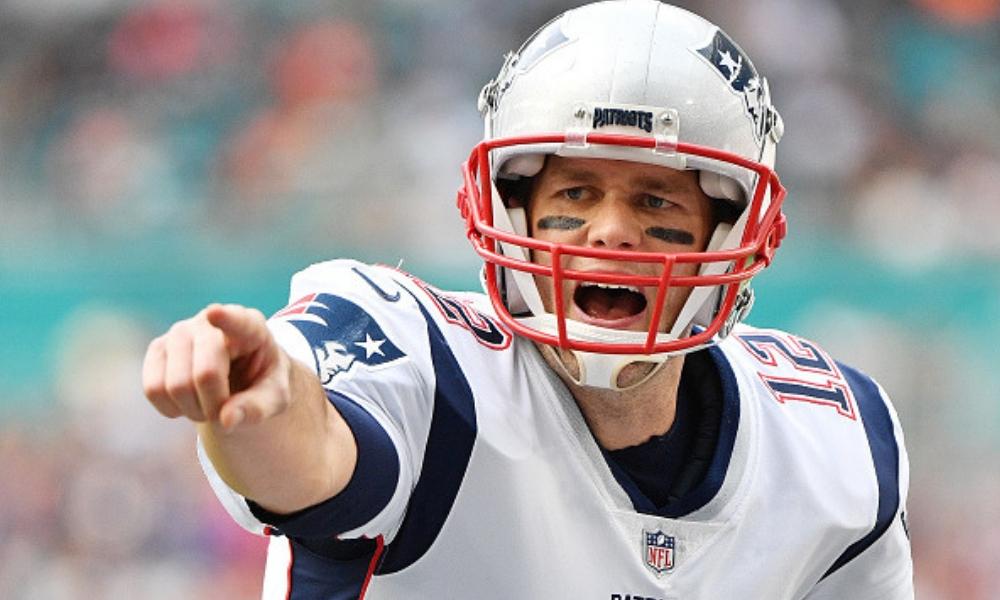 Tom Brady, líder de anotaciones de la NFL