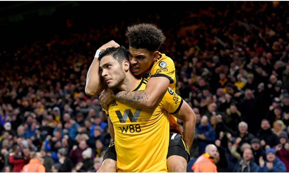 Jiménez anotó en el triunfo del Wolverhampton