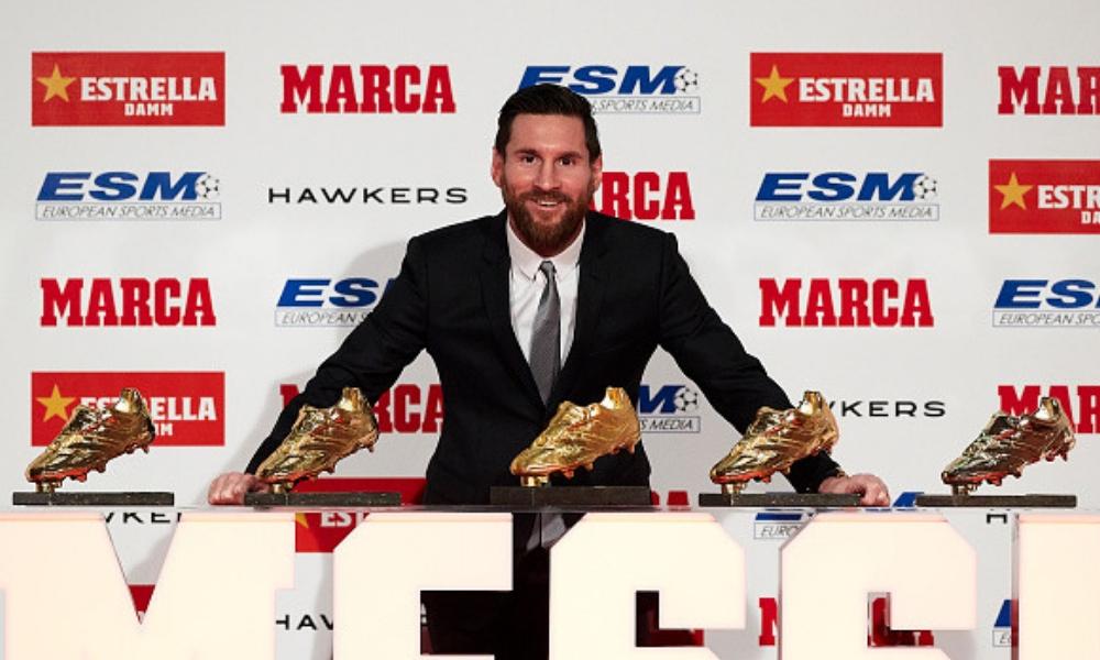 "Messi logró su quinta ""Bota de Oro"""