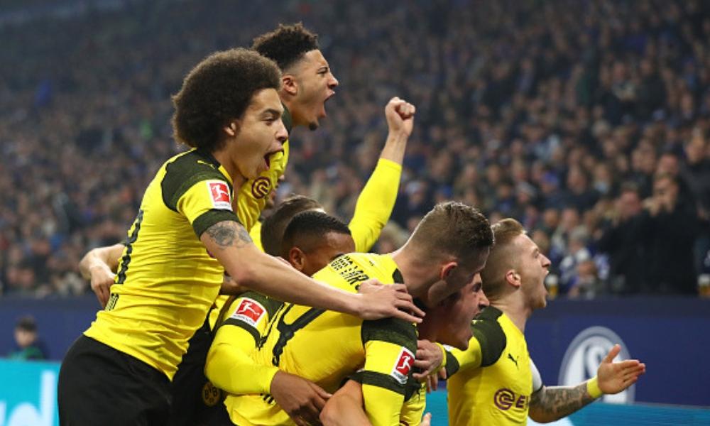 Dortmund se llevó el derbi