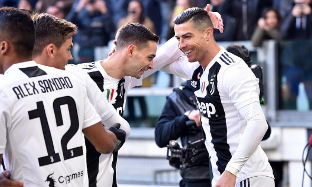 la Juve se impuso a la Sampdoria