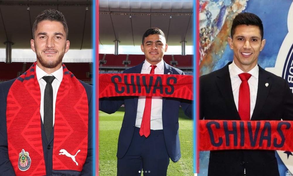 Chivas presentó a sus refuerzos