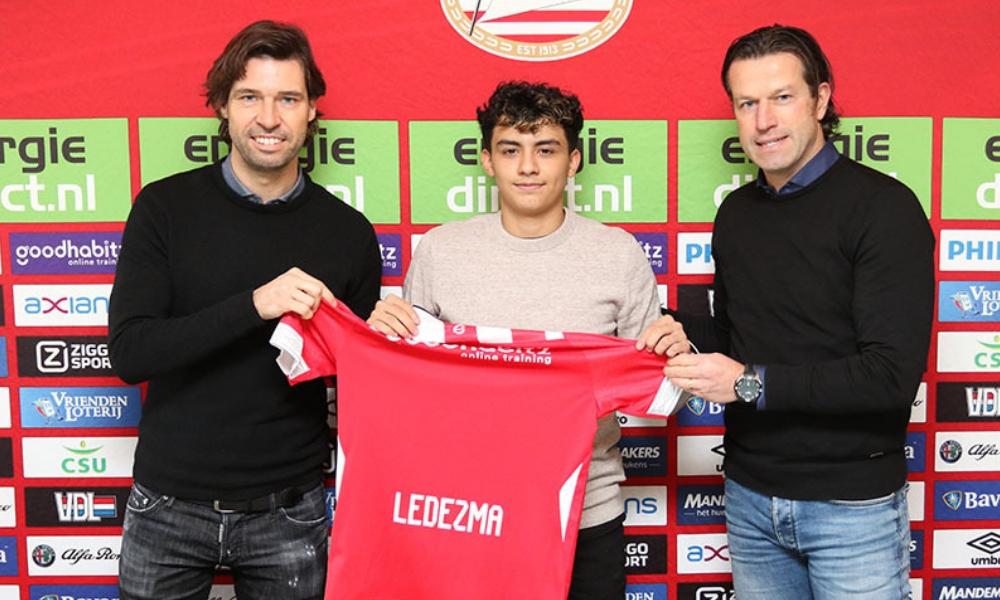 juvenil mexicano fichó con el PSV