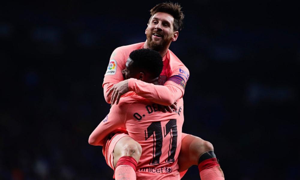 recital de Messi ante el Espanyol