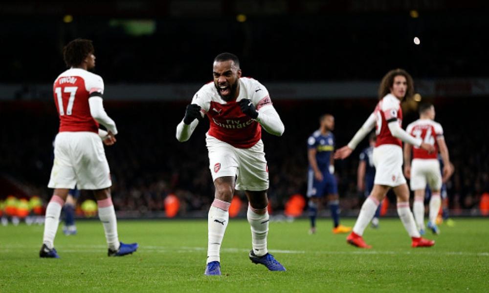 Arsenal goleó al Fulham en Año Nuevo