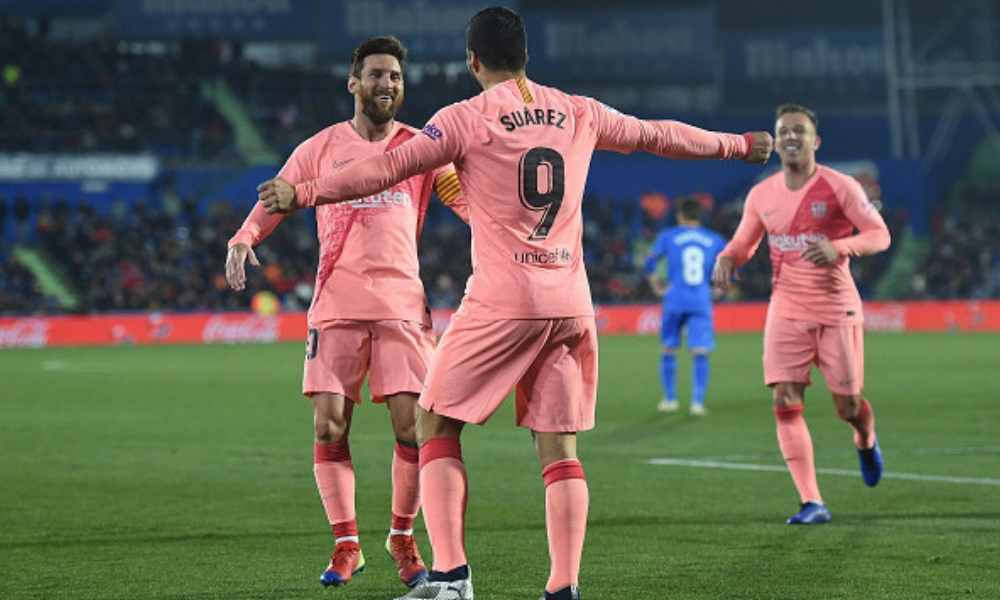 Barcelona se afianzó en el liderato