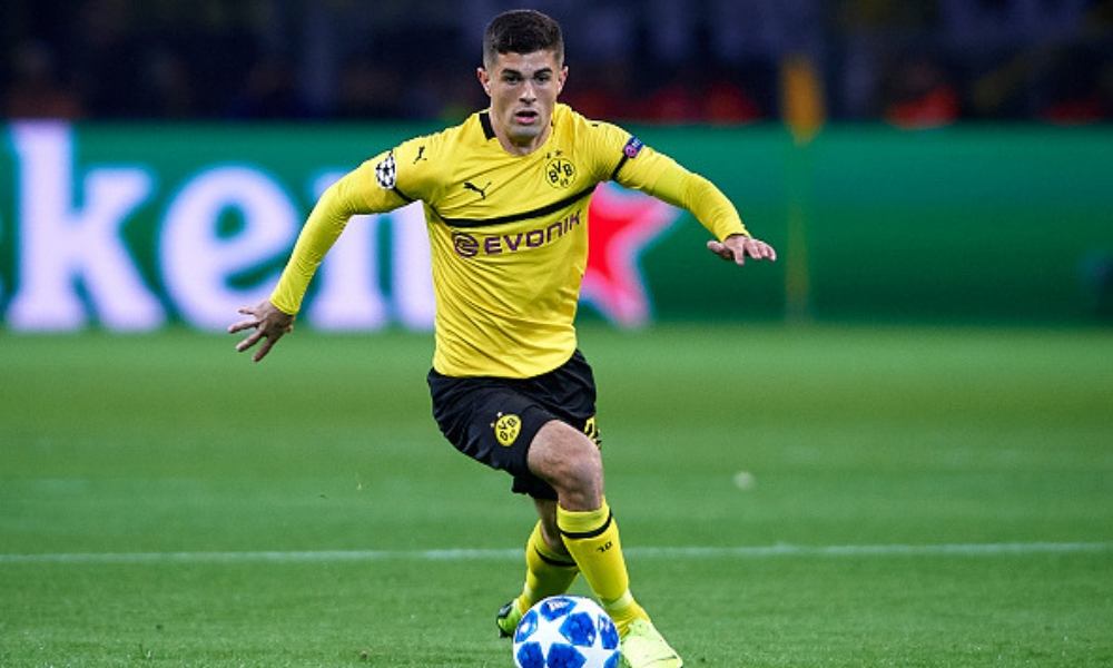 Chelsea fichó a Christian Pulisic