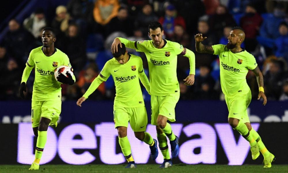 Barcelona cayó en la ida de los Octavos