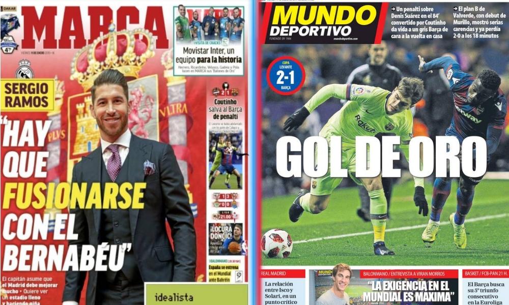 diarios deportivos del 11 de enero de 2019