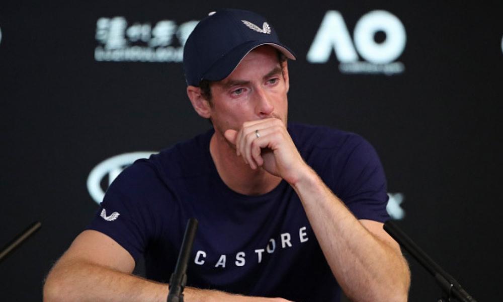 Murray anunció entre lagrimas su retiro