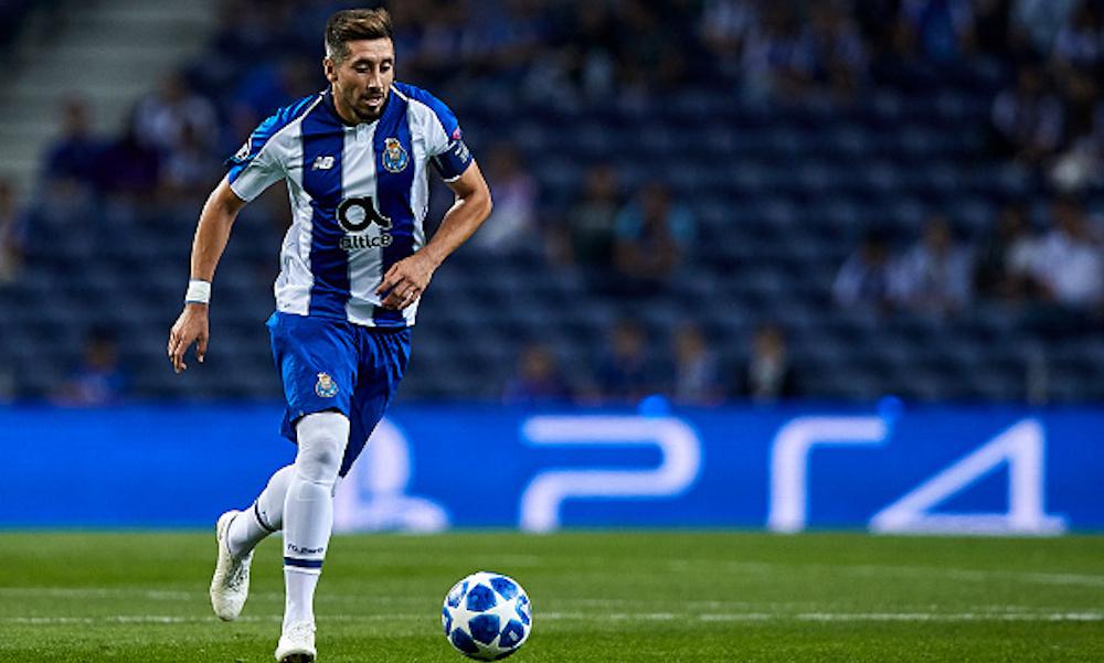 Héctor Herrera interesa a un equipo español