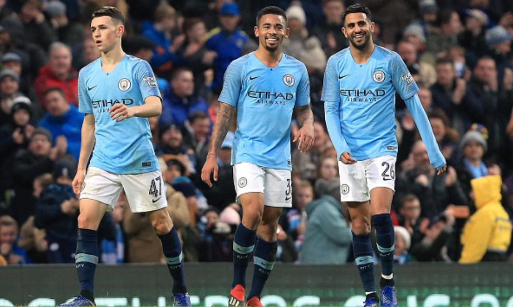 Manchester City avanzó con goleada