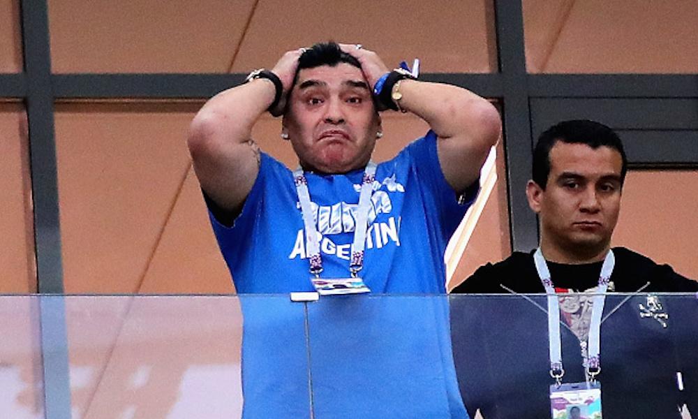 Maradona sigue desaparecido