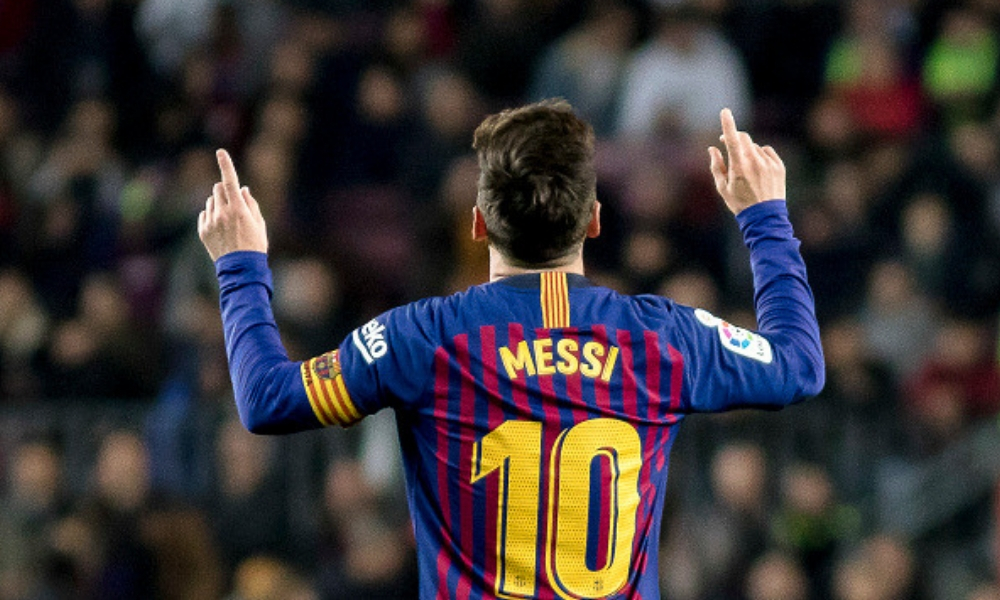 Messi anotó su gol 400 en LaLiga