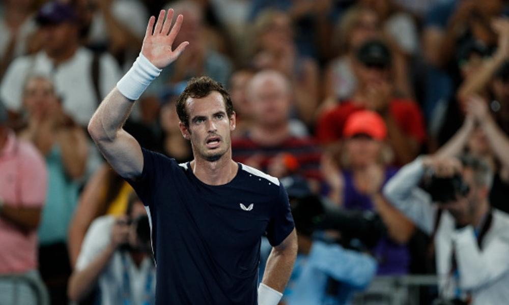 Murray se despidió del Abierto de Australia