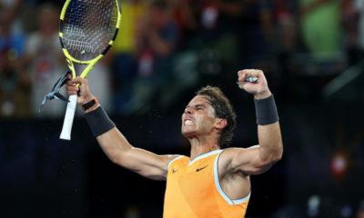 Rafael Nadal avanzó a la final