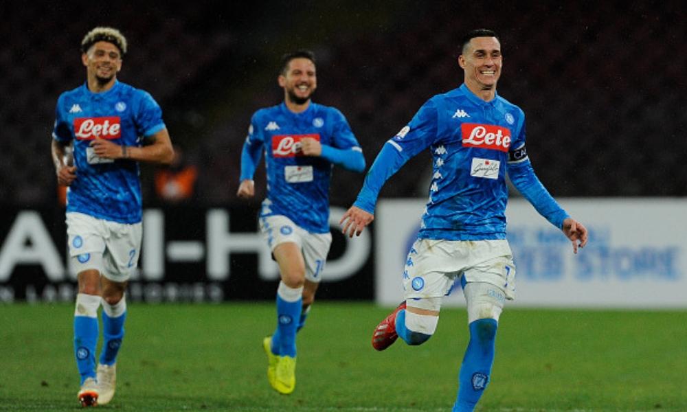 Napoli hizo valer la localía