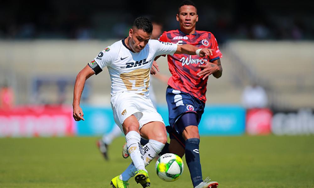 Pumas y Veracruz se fueron sin goles