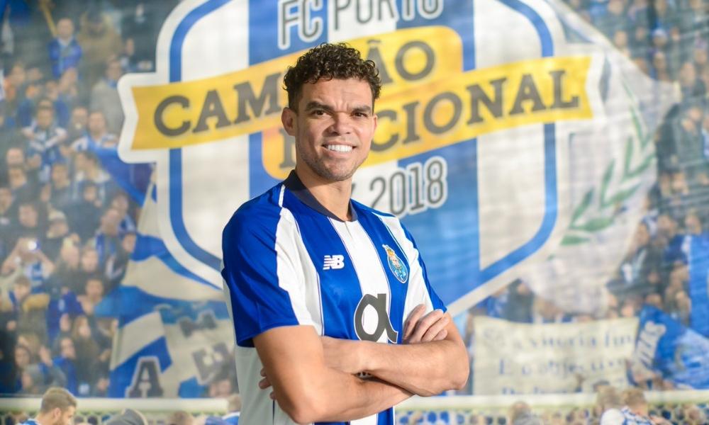 Pepe volvió al Porto