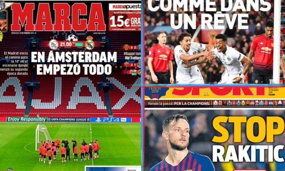 diarios deportivos del 13 de febrero de 2019
