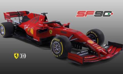 nuevo Ferrari SF90