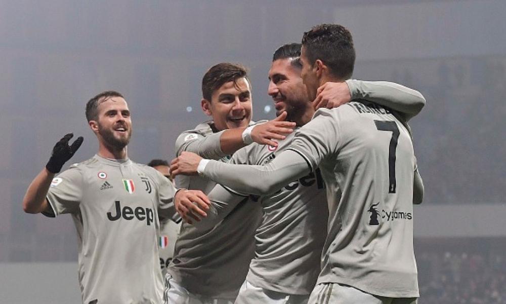 Juventus venció al Sassuolo