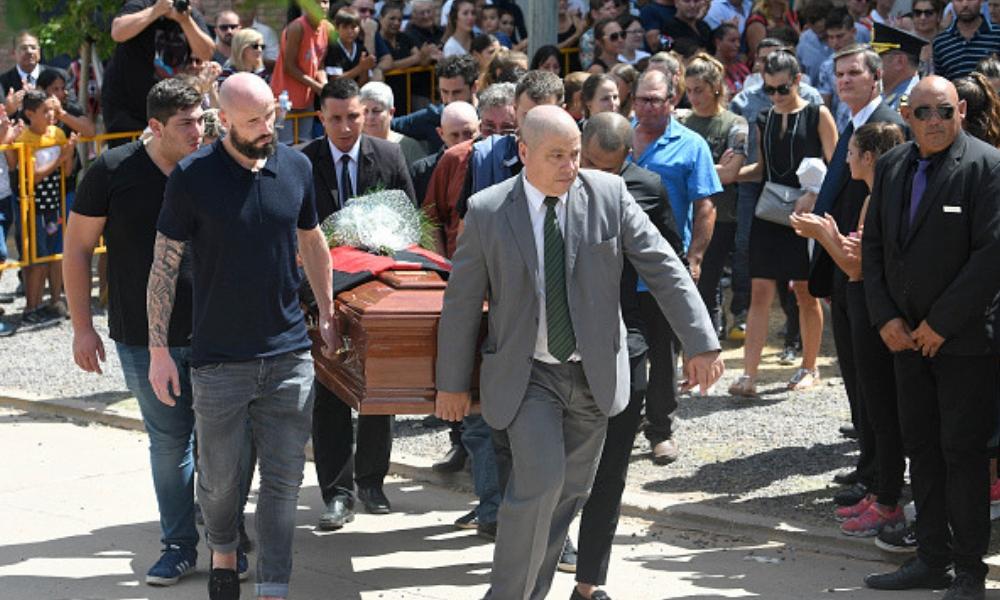 último adiós a Emiliano Sala