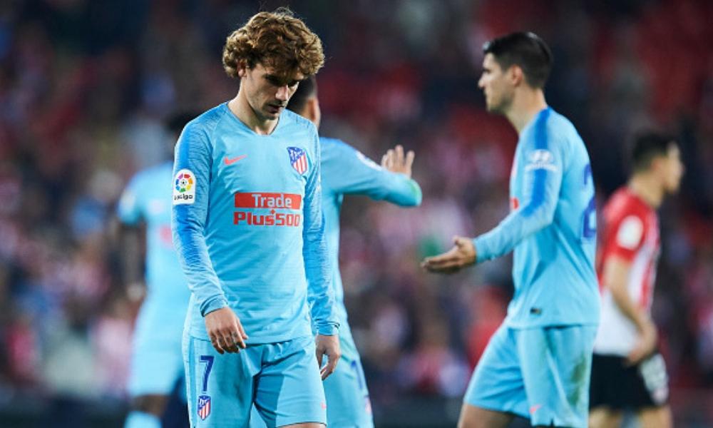 Atlético de Madrid se despidió prácticamente de LaLiga