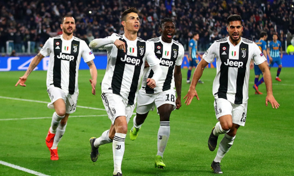 Cristiano Ronaldo metió a la Juventus en Cuartos