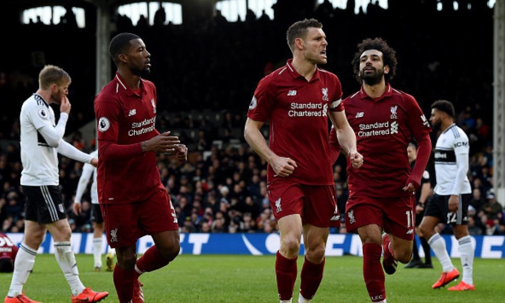 Liverpool recuperó el liderato de la Premier
