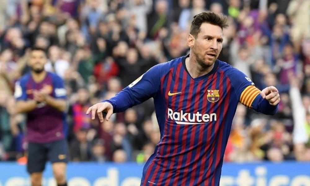 Messi le dio la victoria al Barcelona