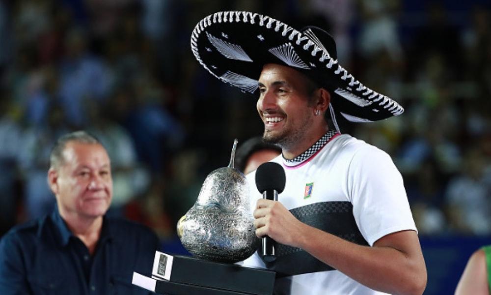 Nick Kyrgios ganó el Abierto Mexicano de Tenis