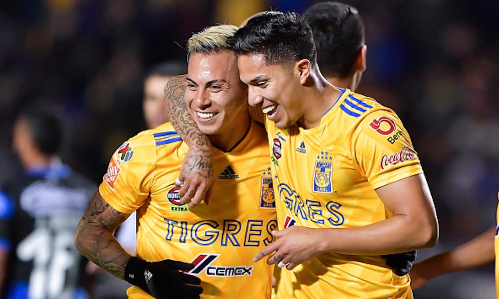 Tigres goleó a Querétaro