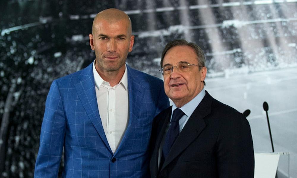 Zidane regresaría al Real Madrid