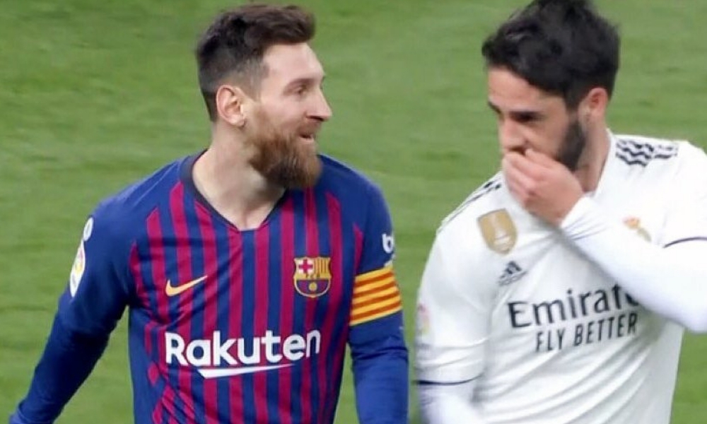 confesión de Isco a Messi