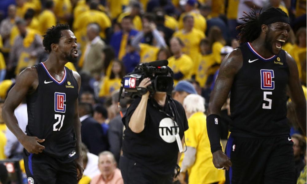 Clippers lograron la mayor remontada en la historia, Golden State Warriors, NBA, playoffs