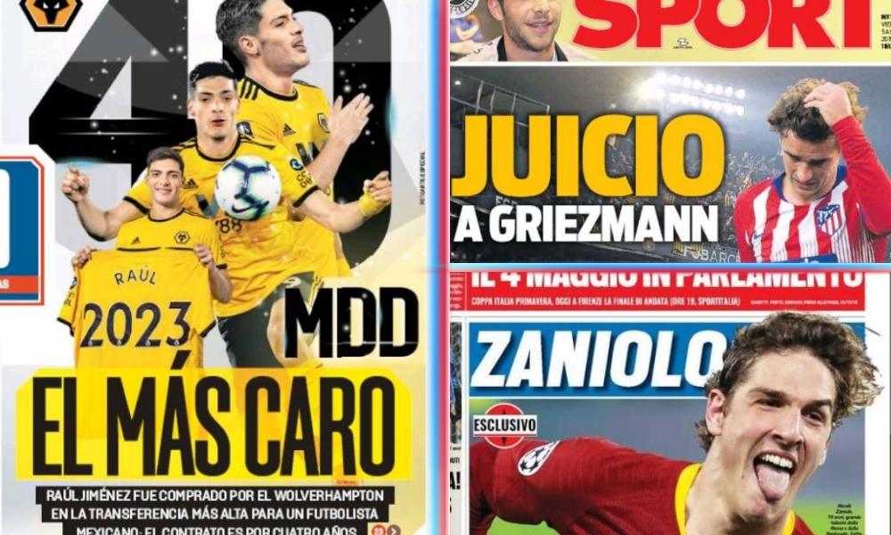 diarios deportivos del 5 de abril de 2019