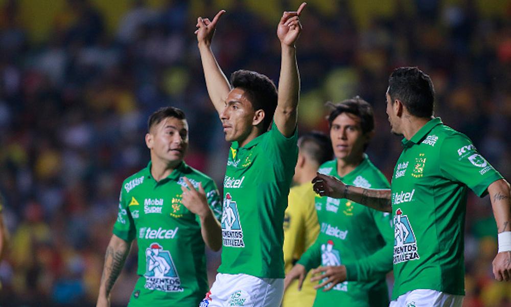 León goleó al Puebla