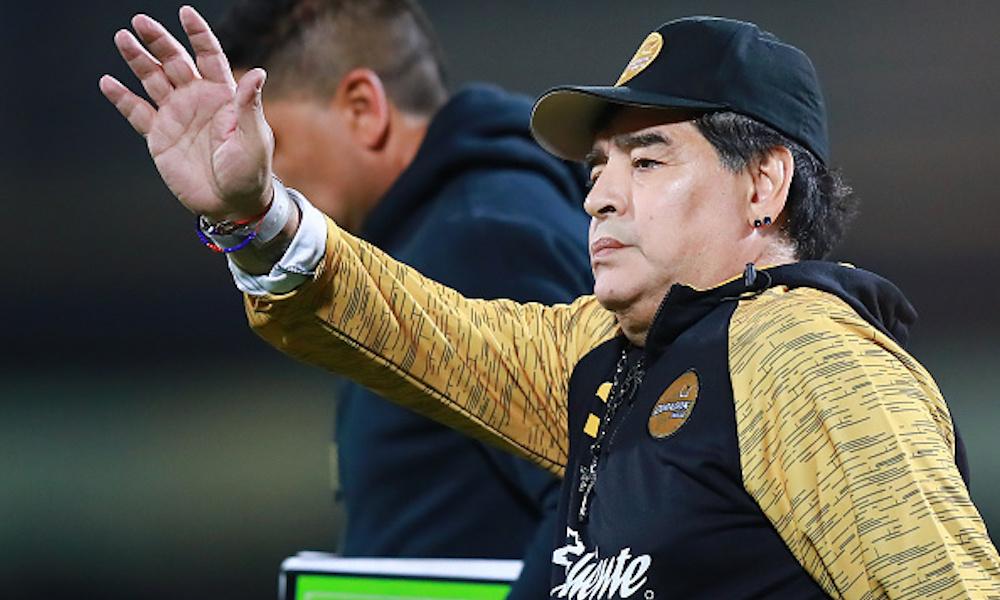 Maradona estrenará una película de su vida