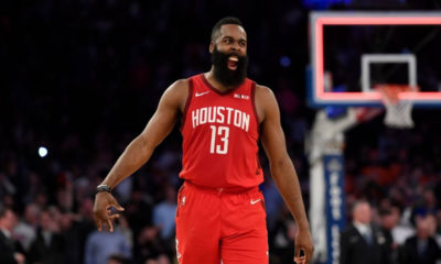 Los Rockets de James Harden liquidaron a Jazz, 'La Barba', NBA Playoffs, Rockets, Jazz