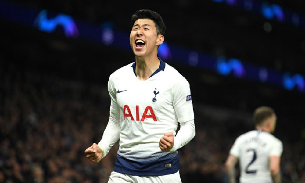 Son guió al Tottenham