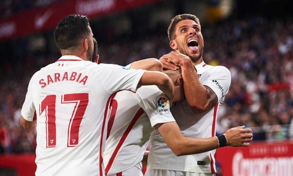 el Sevilla ganó el derbi sevillano