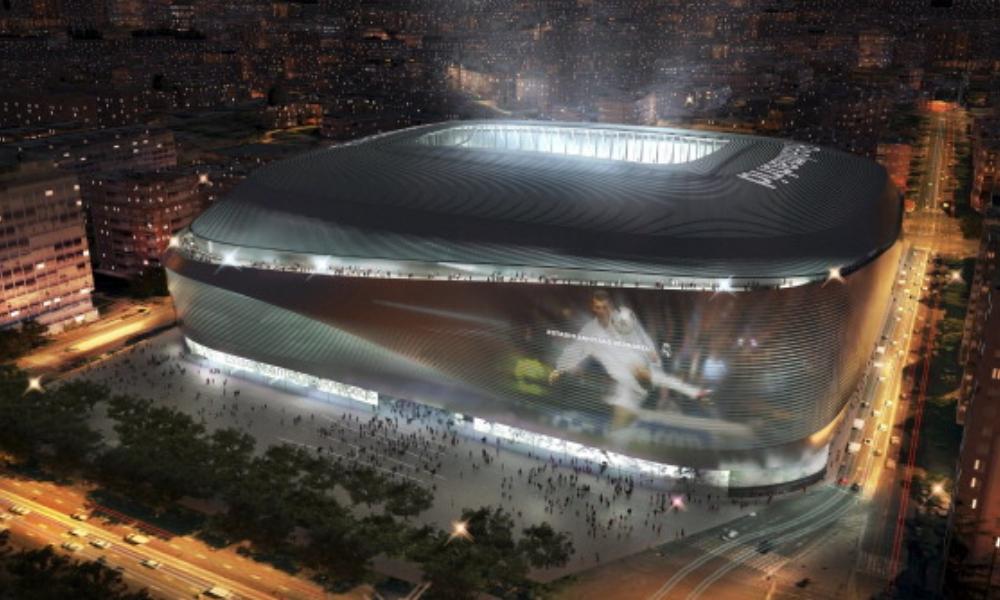remodelación del nuevo Bernabéu, Santiago Bernabéu, Real Madrid, Paseo de la Castellana