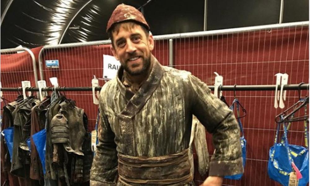 Aaron Rodgers apareció en Game of Thrones
