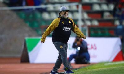 Éxito de Maradona en Dorados